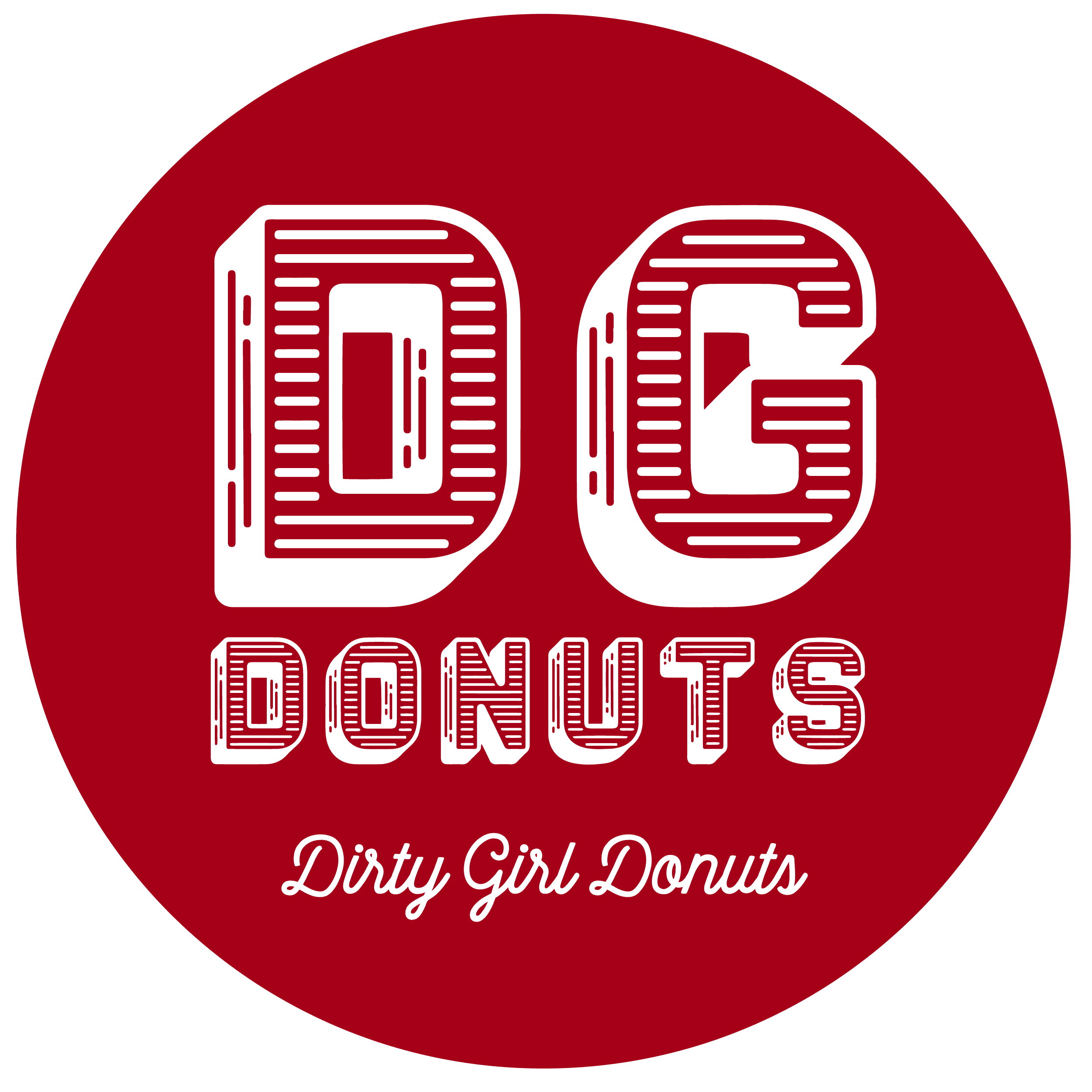 Dirty Girl Donuts - DGD_Red Logo